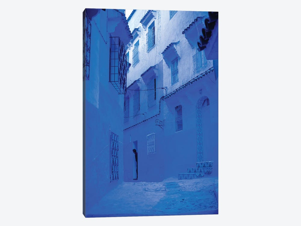 Blue Home by Mark MacLaren Johnson 1-piece Canvas Wall Art