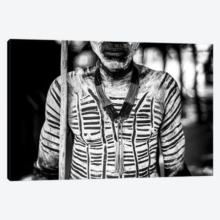 Tribal Body Paint Canvas Print #MMJ75} by Mark MacLaren Johnson Canvas Print
