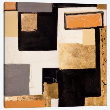 Goldies Blocks Canvas Print #MMK23} by Monika Mickute Canvas Art