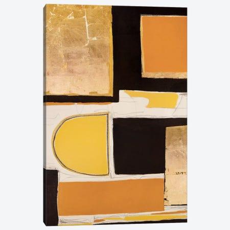 Goldies Blocks II Canvas Print #MMK24} by Monika Mickute Art Print
