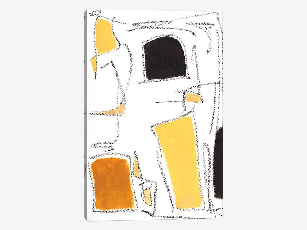 Mid Century Modern III by Monika Mickute 1-piece Canvas Print