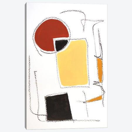 Mid-Century Modern I Canvas Print #MMK32} by Monika Mickute Canvas Print