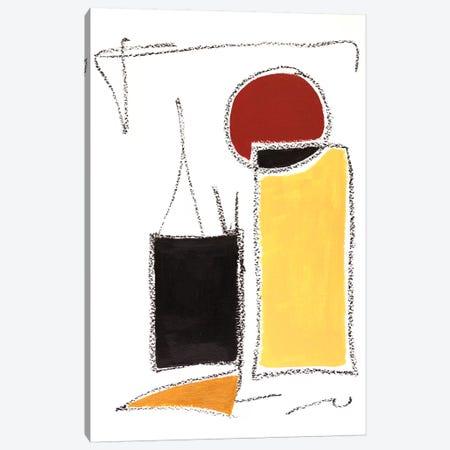 Mid-Century Modern II Canvas Print #MMK33} by Monika Mickute Art Print
