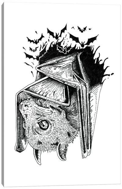 Bat & Bats Canvas Art Print