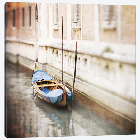Gondola Canvas Print #MMO1} by Margaret Morrissey Canvas Wall Art