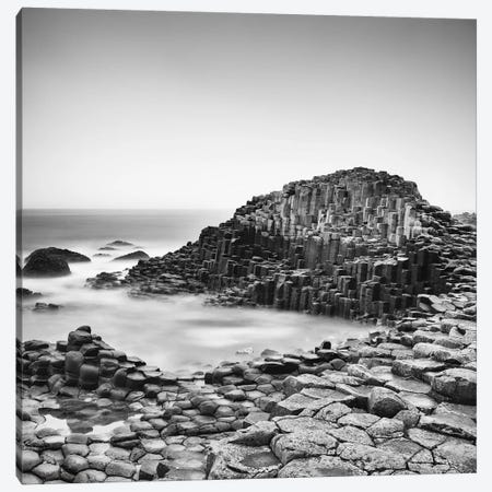 The Giant's Causeway Canvas Print #MMO3} by Margaret Morrissey Canvas Wall Art
