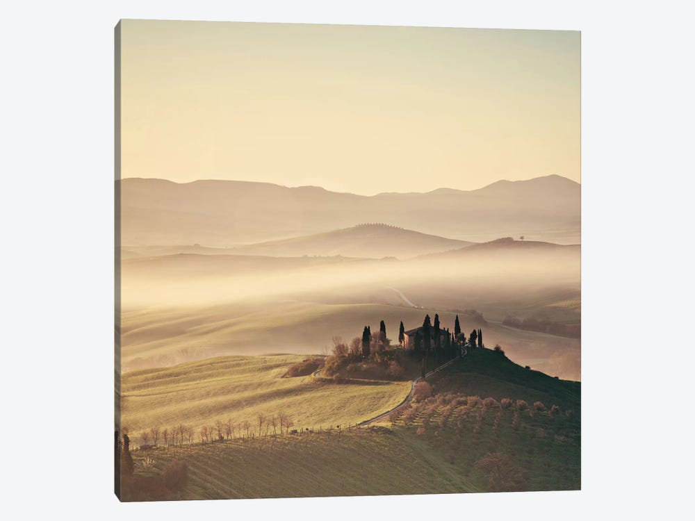 Tuscan Sunrise 1-piece Canvas Art