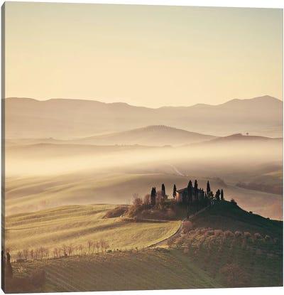 Tuscan Sunrise Canvas Art Print