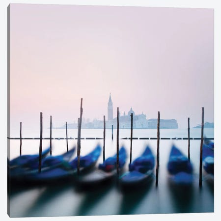 Venetian Sunrise Canvas Print #MMO5} by Margaret Morrissey Canvas Art Print
