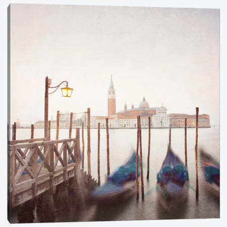 Venice Twilight Canvas Print #MMO6} by Margaret Morrissey Canvas Print