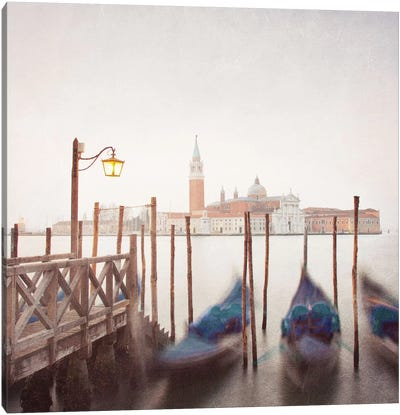Venice Twilight Canvas Art Print