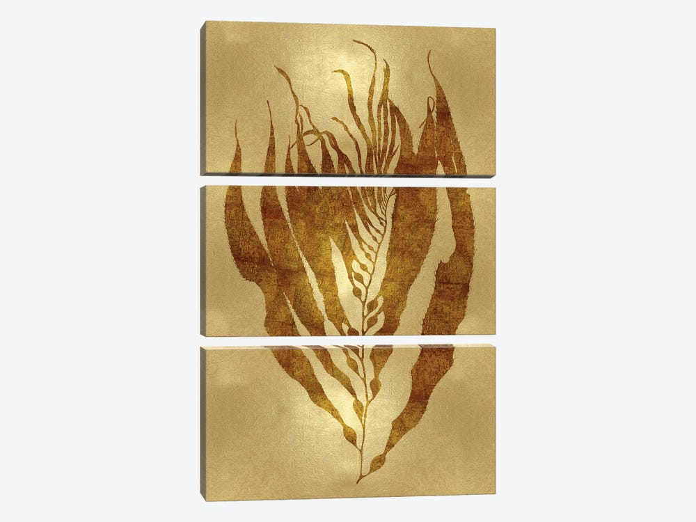 Gold I by Melonie Miller 3-piece Canvas Wall Art