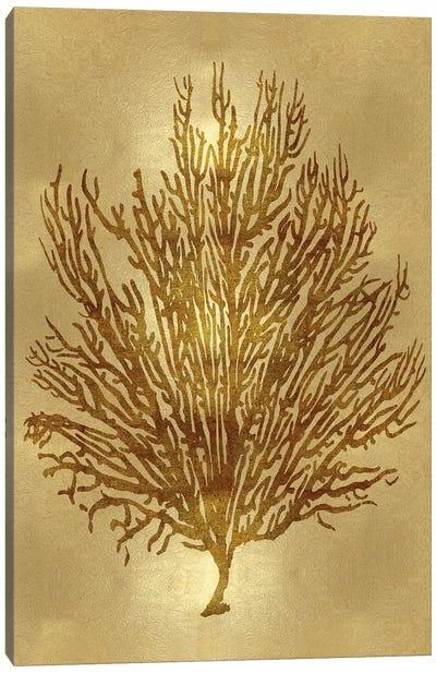 Gold V Canvas Art Print