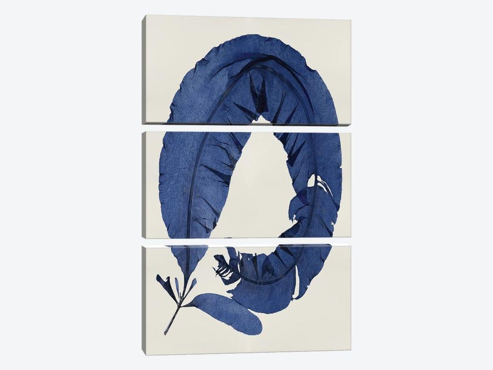 Indigo I by Melonie Miller 3-piece Canvas Print