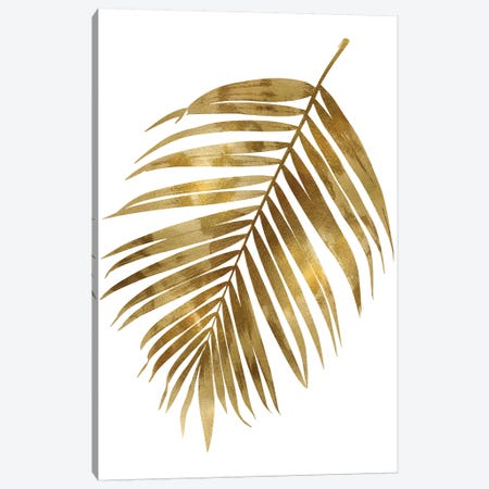Gold Palm I Canvas Print #MMR33} by Melonie Miller Canvas Artwork