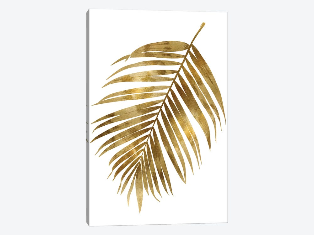 Gold Palm I by Melonie Miller 1-piece Canvas Art