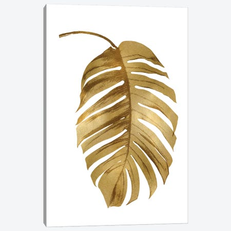 Gold Palm II Canvas Print #MMR34} by Melonie Miller Art Print