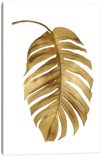 Gold Palm II Canvas Art Print
