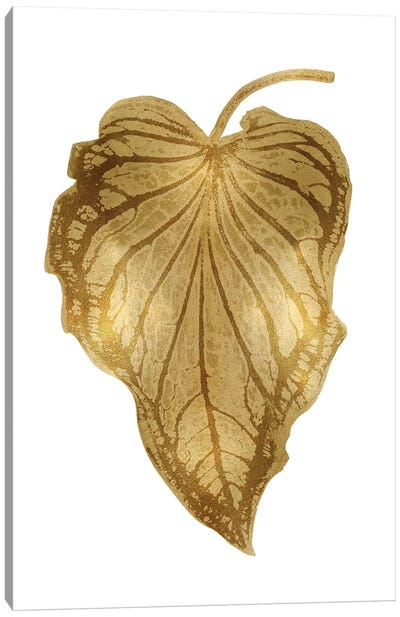 Gold Palm III Canvas Art Print
