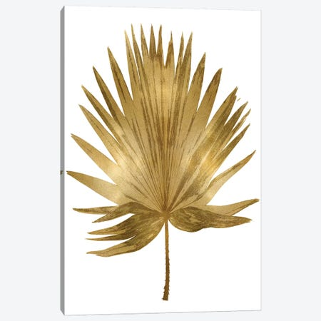 Gold Palm IV Canvas Print #MMR36} by Melonie Miller Canvas Art Print