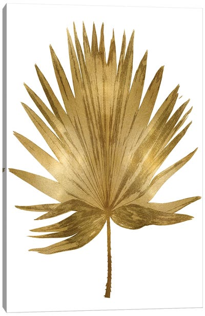 Gold Palm IV Canvas Art Print