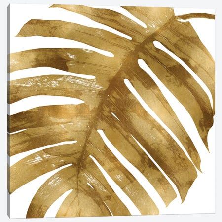 Gold Palm, Close-Up II Canvas Print #MMR38} by Melonie Miller Canvas Artwork
