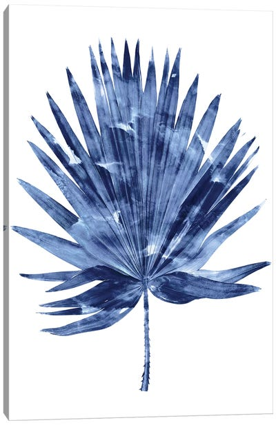 Indigo Palm IV Canvas Art Print