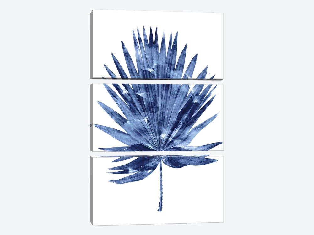 Indigo Palm IV by Melonie Miller 3-piece Art Print