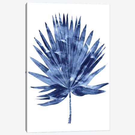Indigo Palm IV Canvas Print #MMR52} by Melonie Miller Canvas Art