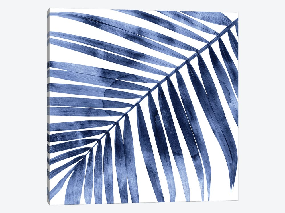 Indigo Palm, Close-Up I by Melonie Miller 1-piece Canvas Art