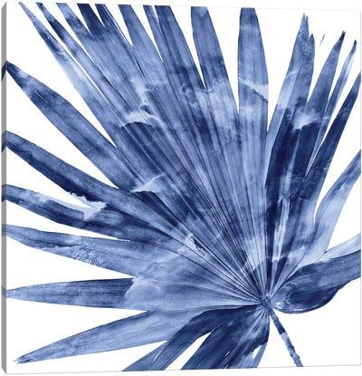 Indigo Palm, Close-Up IV Canvas Art Print