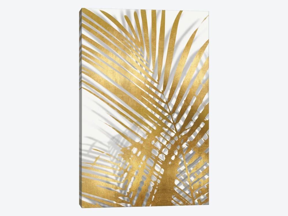 Palm Shadows Gold I by Melonie Miller 1-piece Canvas Print