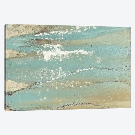 Shoreline Abstract Canvas Print #MMS8} by Megan Morris Canvas Art Print