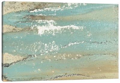Shoreline Abstract Canvas Art Print