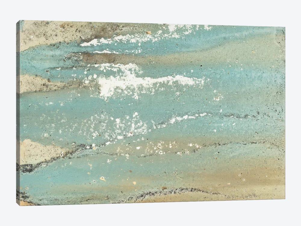 Shoreline Abstract by Megan Morris 1-piece Canvas Artwork