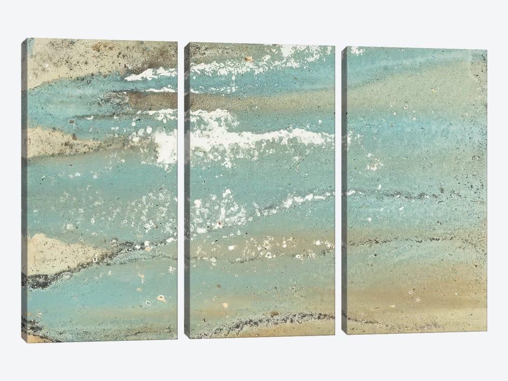 Shoreline Abstract by Megan Morris 3-piece Canvas Art