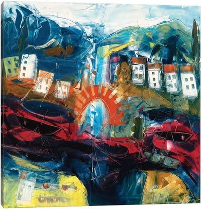 Abstract Landscape I Canvas Art Print