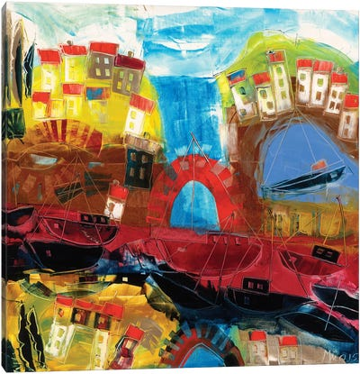 Abstract Landscape III Canvas Art Print