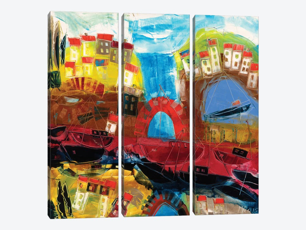 Abstract Landscape III by Max Müller 3-piece Art Print