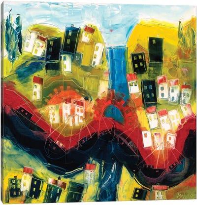 Abstract Landscape IV Canvas Art Print