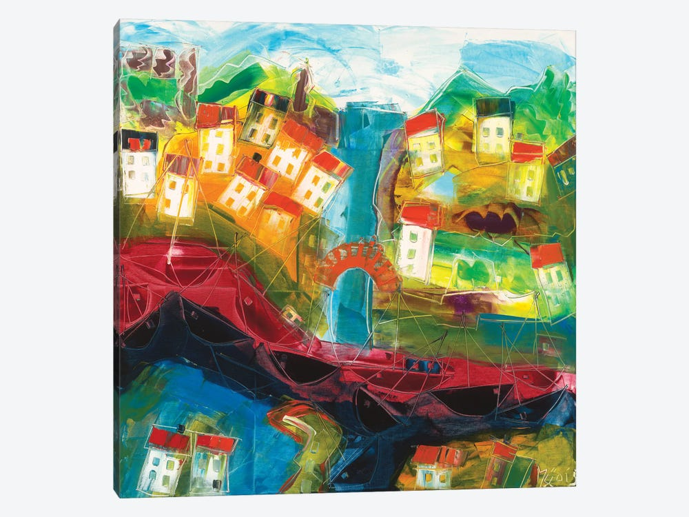Abstract Landscape VI by Max Müller 1-piece Canvas Art