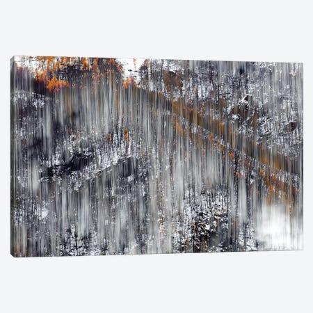 Side Mountain Abstract Canvas Print #MMV22} by Mauro La Malva Canvas Print