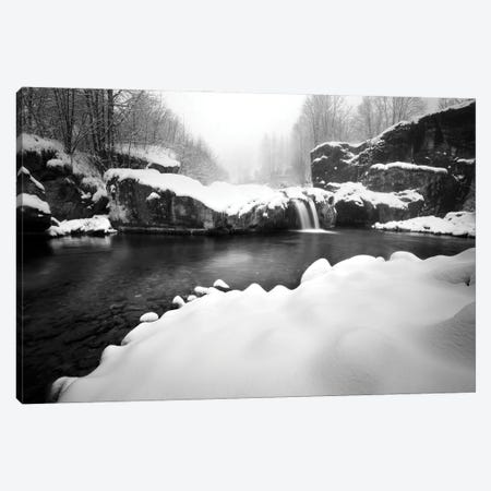 The Little Fall Canvas Print #MMV27} by Mauro La Malva Canvas Wall Art