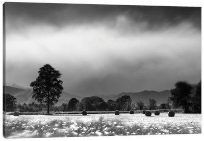 Countryside Storm Canvas Art Print