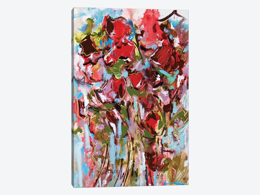 Summer Bouquet 1-piece Canvas Wall Art