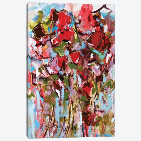 Summer Bouquet Canvas Print #MNA21} by Marianna Shakhova Canvas Wall Art
