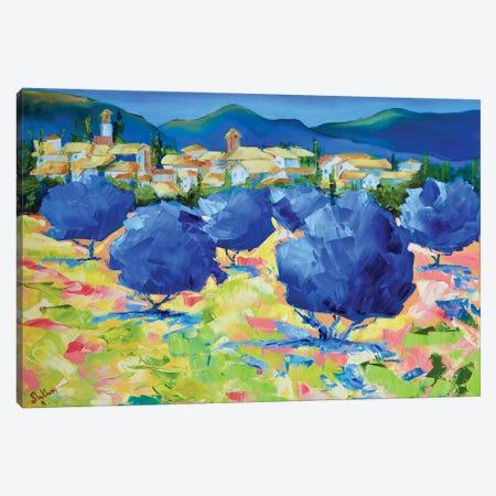 Summer Heat Canvas Print #MNA22} by Marianna Shakhova Canvas Art