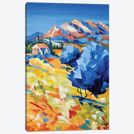 Tuscany Canvas Print #MNA25} by Marianna Shakhova Art Print