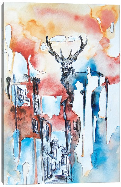 Wild Life Canvas Art Print