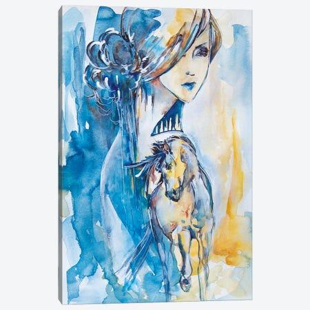 Rye Field Canvas Print #MNA35} by Marianna Shakhova Canvas Art
